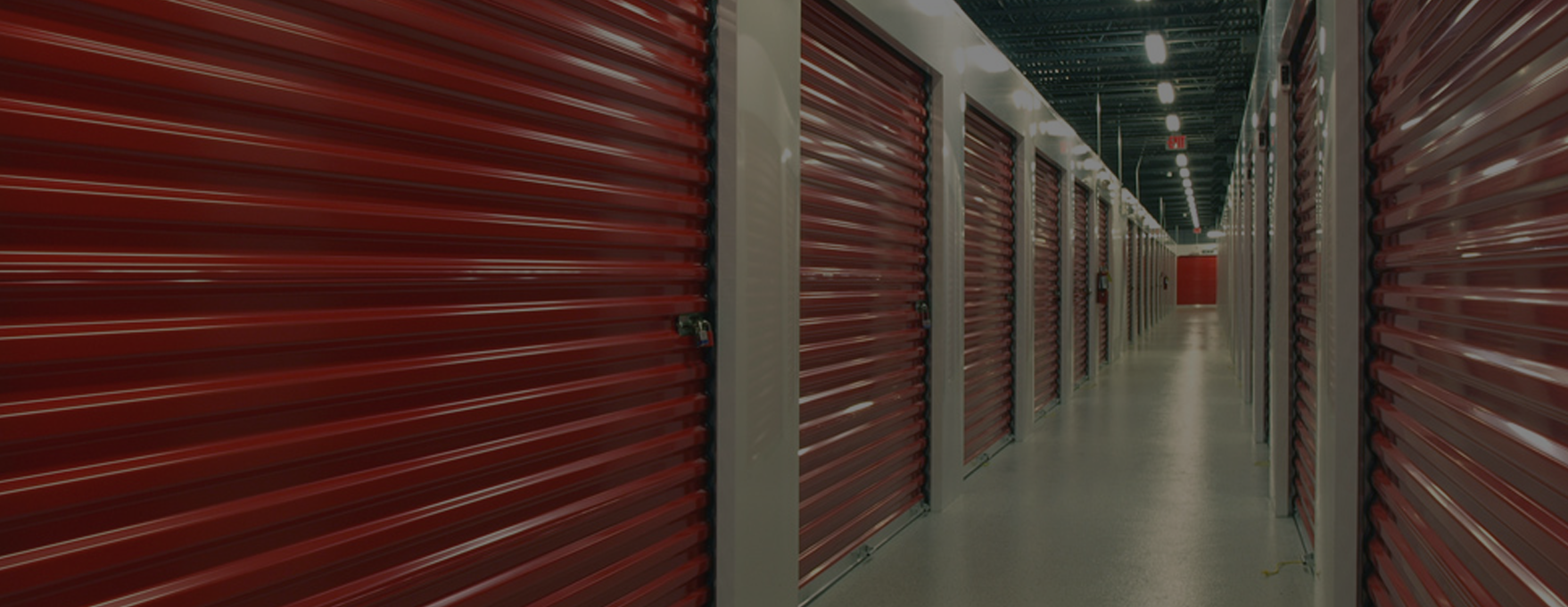 background image of roller shutters